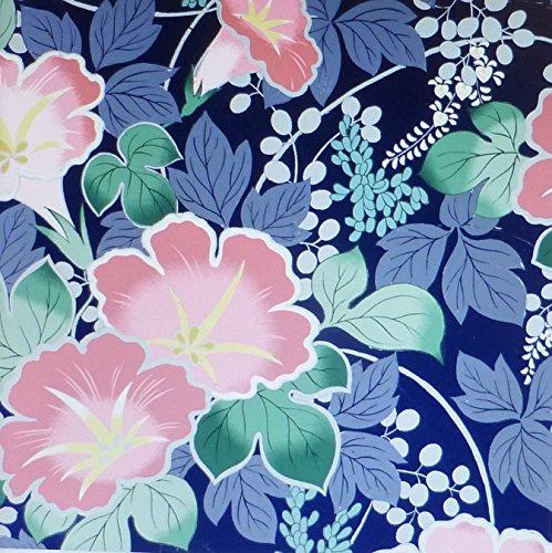 Shiki metallizzato, asiatico rosa fiori by Quilt Gate