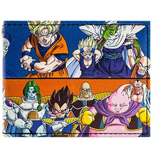 Toei Dragonball Z gut und schlecht Blau Portemonnaie Geldbörse (Bulma Kostüm Zubehör)