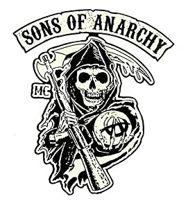 "Oldschool autocollants ""sons of anarchy""/autocollant biker bobber-chopper"
