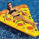 smartlife Schwimmen aufblasbare Matratze Giant Pizza Slice Floating Bett