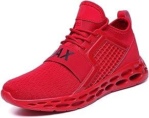 Flarut Herren Laufschuhe Leichte Gym Sneaker Sportschuhe Turnschuhe Freizeitschuhe Atmungsaktiv Schuhe für Männer