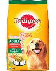 Pedigree Adult Dog Food Vegetarian, 3 kg Pack