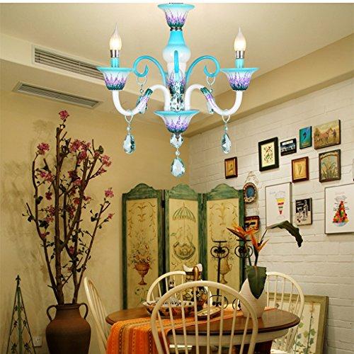Lustre Chambre d'enfants créative moderne simple fille personnalisée Princesse européenne lustres en cristal romantique Éclairage décoratifA+ ( taille : 3- heads )