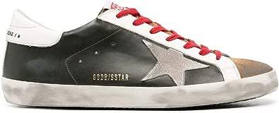 Golden Goose Luxury Fashion Uomo GMF00101F00034680309 Verde Pelle Sneakers | Ss21
