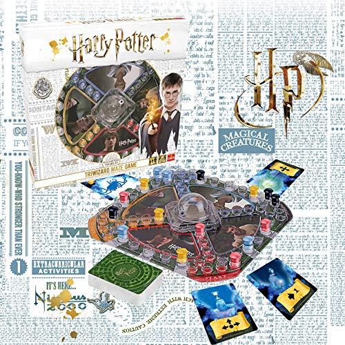 61L4t WIULL - Pressman- Harry Potter Los Tres Magos Juego de Mesa, Multicolor (Goliath Games 108672)