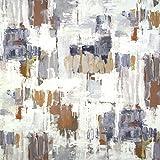La prestigiosa Textiles Printwork Aura cortina de tela de tapicería / - por metro