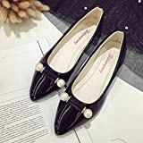 Xjp Ladies Casual Flat Beaded Slip On Shoes Loafers