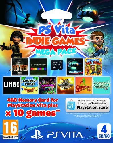 Indie Games Mega Pack with 4GB Memory Card (Playstation Vita) [Edizione: Regno Unito]