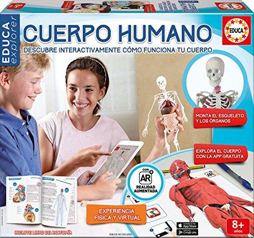 Educa Borrás Conoce tu cuerpo, juego educativo con app (16560)