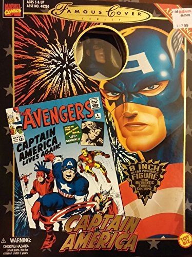 Marvel Famous Covers - Captain America MIB Nr! by Toy Biz by Toy Biz