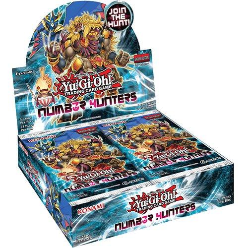 Yu Gi Oh [UK-Import] Number Hunters Booster Box Case of 24 (Prime Yu Gi Oh Karten)