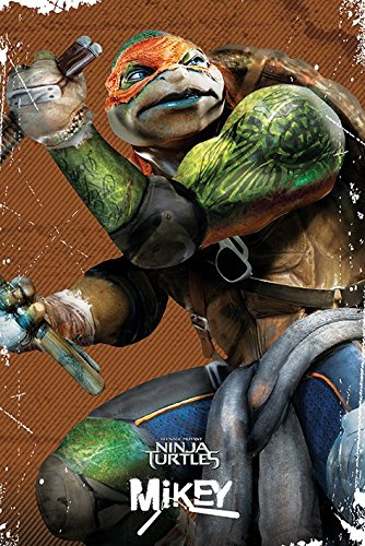 Teenage Mutant Ninja Turtles, Michelangelo - 61 cm x 91.5 cm POSTER// POSTER