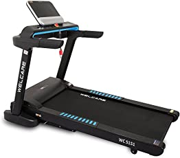 Welcare Motorized Treadmill WC5151 2.5 HP(5 HP Peak),India's Most Trusted Fitness Equipment's Brand