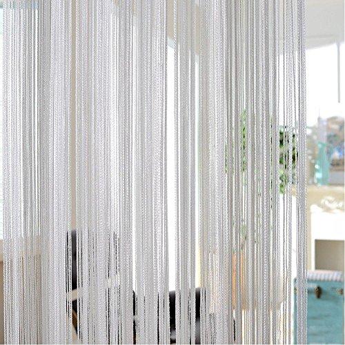 Durevole poliestere tende sparkle di durevole per veranda camera da letto hotel bagno 3colori a scelta, silver, 200cm*100 cm