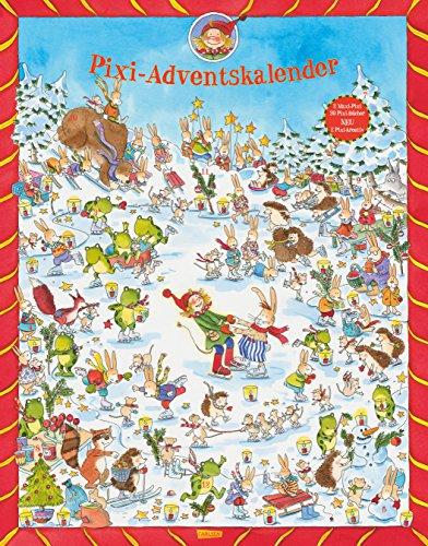 Preisvergleich Produktbild Pixi Adventskalender 2016: jetzt mit 2 x Pixi-kreativ, 2 x Maxi-Pixi und 20 Pixi-Büchern