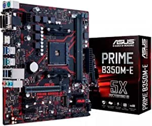 Asus Prime B350m E Gaming Motherboard Socket Am4 Computers Accessories