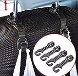 Hook Seat Car 4UDS Hook Headrest Car Hook Rear Seat Hook...