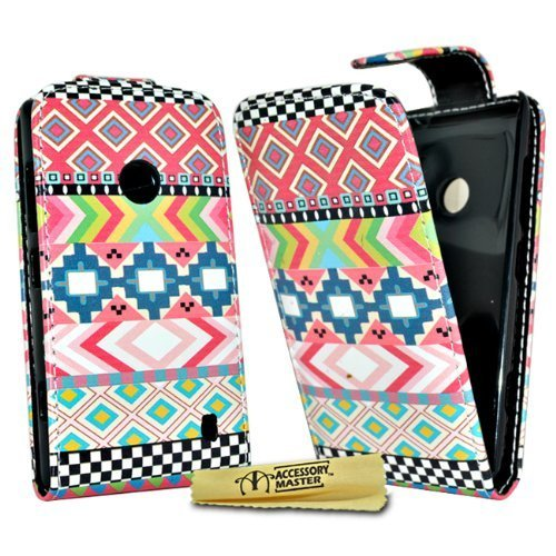 Diamante Compact (Accessory Master pu Leder Tasche mit Touchscreen Stylus für Sony Xperia Z1 Compact diamante rosa)