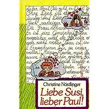 Liebe Susi, lieber Paul