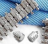 JXY Il braccialetto magnetico placcato argento monta i monili 15mm