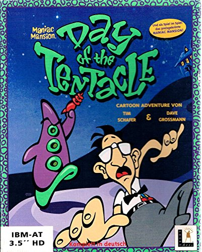 Maniac Mansion -Day of the Tentacle -deutsch- (Maniacs Hammer)