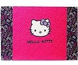 Schreibtischunterlage / Unterlage -  Katze - Hello Kitty  - 60 cm * 40 cm - Tischunterlage / Knetunterlage / Bastelunterlage - Größe A2 - mit Einschubfach -..