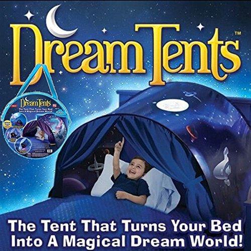 Tende bambini da sogno - mondo magico dream tents pop up tenda gioco per bambini regali di compleanno e natale (space adventure)