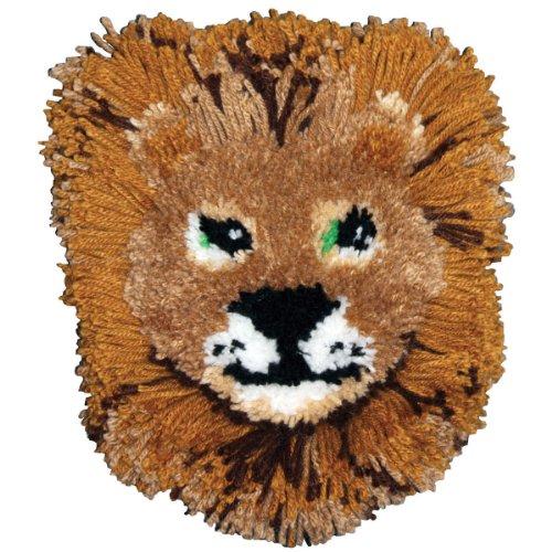 12-zoll-kissen (M C G Textiles 12x 12Zoll Huggables Löwe Kissen Knüpfset)