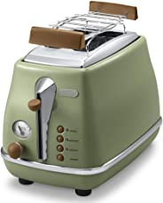 DeLonghi CTOV 2103.BK Ekmek Kızartma Makinesi Icona Vintage 0 CTOV 2103.GR