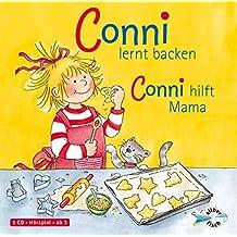 Schneider, Liane : Conni lernt backen/Conni hilft Mama, 1 Audio-CD