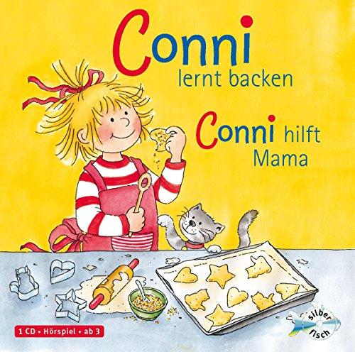 Schneider, Liane : Conni lernt backen / Conni hilft Mama, 1 Audio-CD