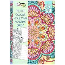 20172018A5–Agenda escolar (con patrones de color Terapia