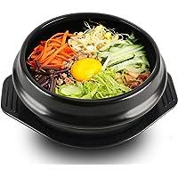 EgBert Coréen Dolsot Bol Grande Taille en Faïence Pot en Pierre Bibimbap Cuisson + Trivet Set Bol De Riz - 14