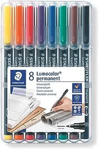 Staedtler Lumocolor S F M Folienstifte Non Permanent Marker 4 6 8 Set Stifte