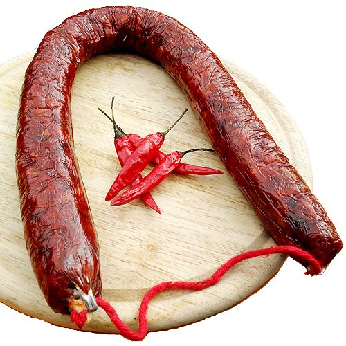 Chorizo Pata Negra, ca. 450 Gr., leicht scharf