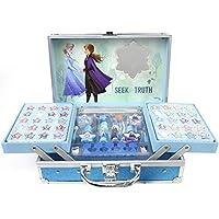 Markwins Disney Frozen Makeup Train Case - Set Trucchi per Bambine - Valigetta Trucchi Rigida con Specchio - Kit Trucchi…