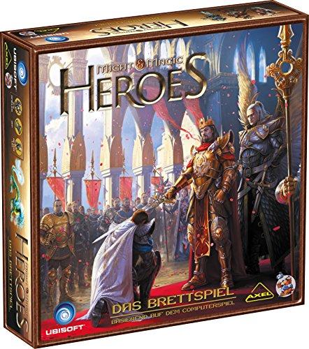 Preisvergleich Produktbild Asmodee HE729 - Might and Magic - Heroes, Brettspiel