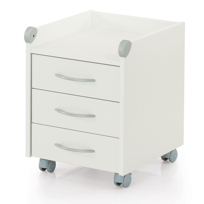 Kettler Rollcontainer aus Holz – Schreibtisch Rollcontainer mit 3 ...