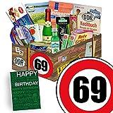 Spezialtiäten Geschenkset   Ostprodukte L   Zahl 69   Geschenk Box Oma