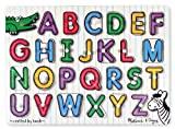 Best Melissa And Doug Toys - Melissa & Doug See-Inside Alphabet Peg,Multi Color Review