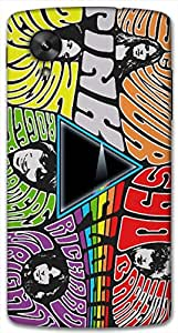 Timpax protective Armor Hard Bumper Back Case Cover. Multicolor printed on 3 Dimensional case with latest & finest graphic design art. Compatible with Google Nexus-5 Design No : TDZ-27686