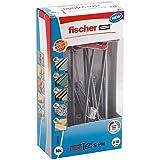 fischer DUOTEC 10 S PH, kantelpluggen met panheadschroef, 2-componenten pluggen, holle pluggen voor bevestiging in gipsplaat,