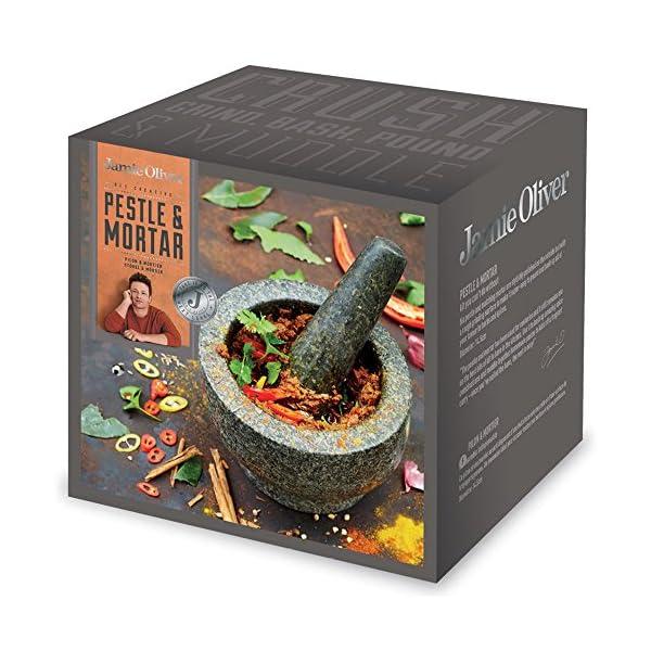 Jamie Oliver Granite Pestle and Mortar, 14 cm 4