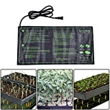 """Sundlight Seedling Heat Mat Durable Waterproof Warm Hydroponic Heating Pad for Indoor Seedling and Germination,10"""" x 20.75"""""""
