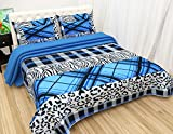 #4: Fashion Hub Grace Cotton King Size Double Bedsheet, 1 Bedsheet And 2 Pillow Covers