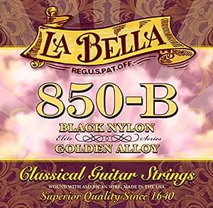 Labella L850B Elite Série Jeu de Cordes en nylon pour Guitare Classique