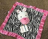 Yudanwin EIN Perfekter Artikel Zebra Handtuch Handtuch Baumwolle Handtuch weichen Baby Tröster Spielzeug Plüsch niedlichen Pferd Toy_Pink