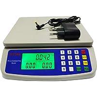 WCX Balance Cuisine Electronique de Précision - Balance Numérique Haute Précision, Acier Inoxydable LCD Rétroéclairé…