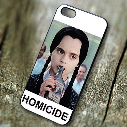 Classy Wednesday Addams Homicide - tri for Cover Iphone 5 or Cover Iphone 5S or Cover Iphone 5SE Case W8L7DP
