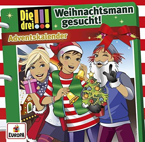 Die drei !!! (SE) Weihnachtsmann gesucht - Europa 2016